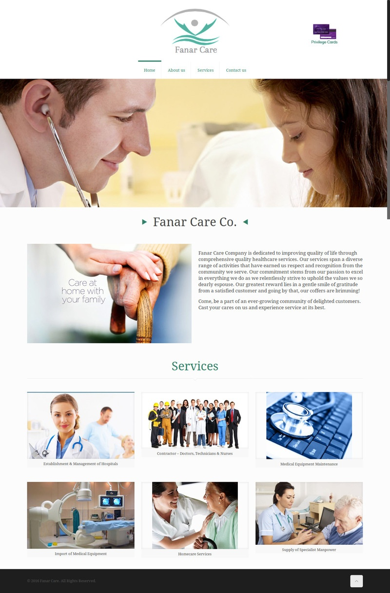 waleed-sayed-Website Design & Development  - Fanar Care