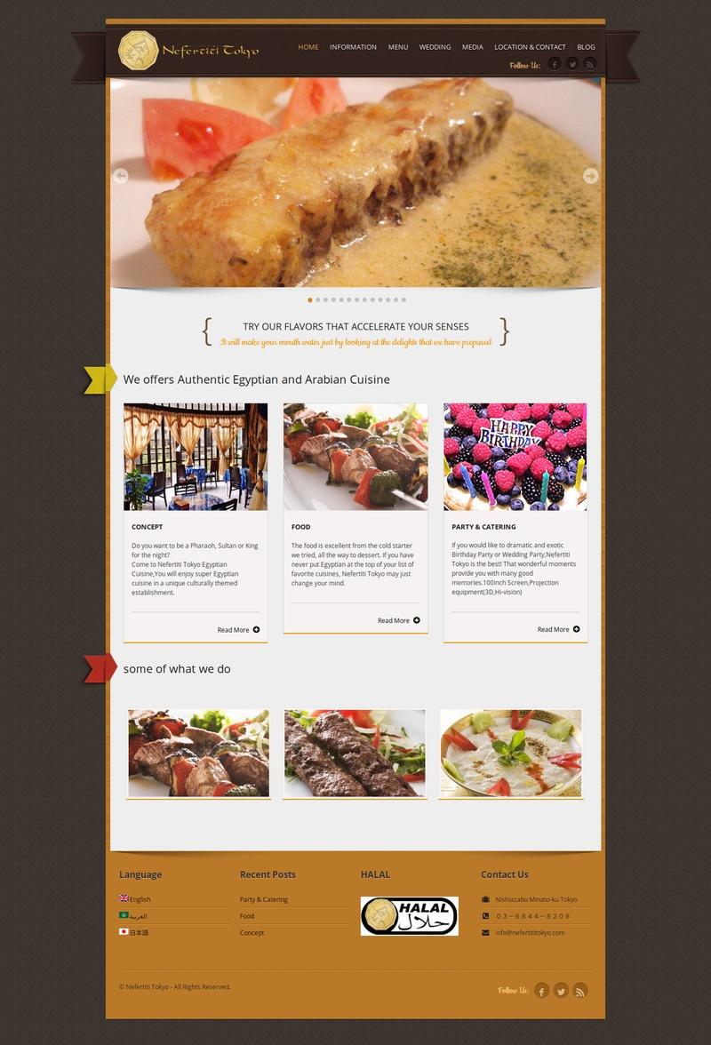 waleed-sayed-Website Design & Development - Nefertiti Tokyo