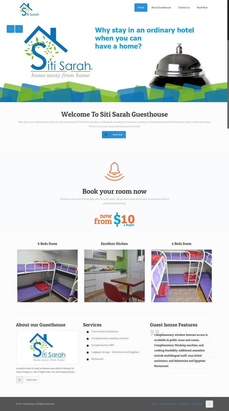 waleed-sayed-Website Design & Development - Siti Sarah Guest House