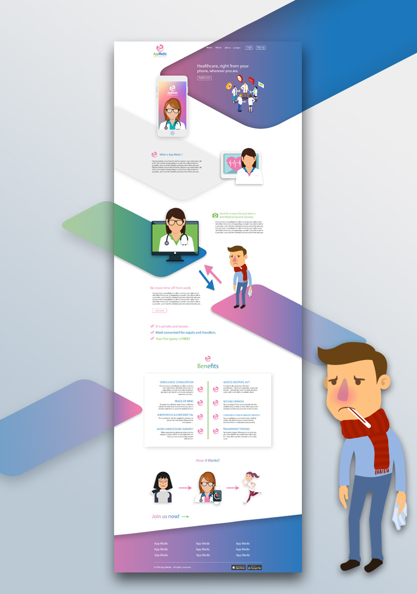 appmedic-website-design-waleedsayed