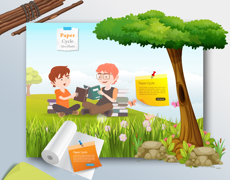 paper-cycle-website-design-waleedsayed