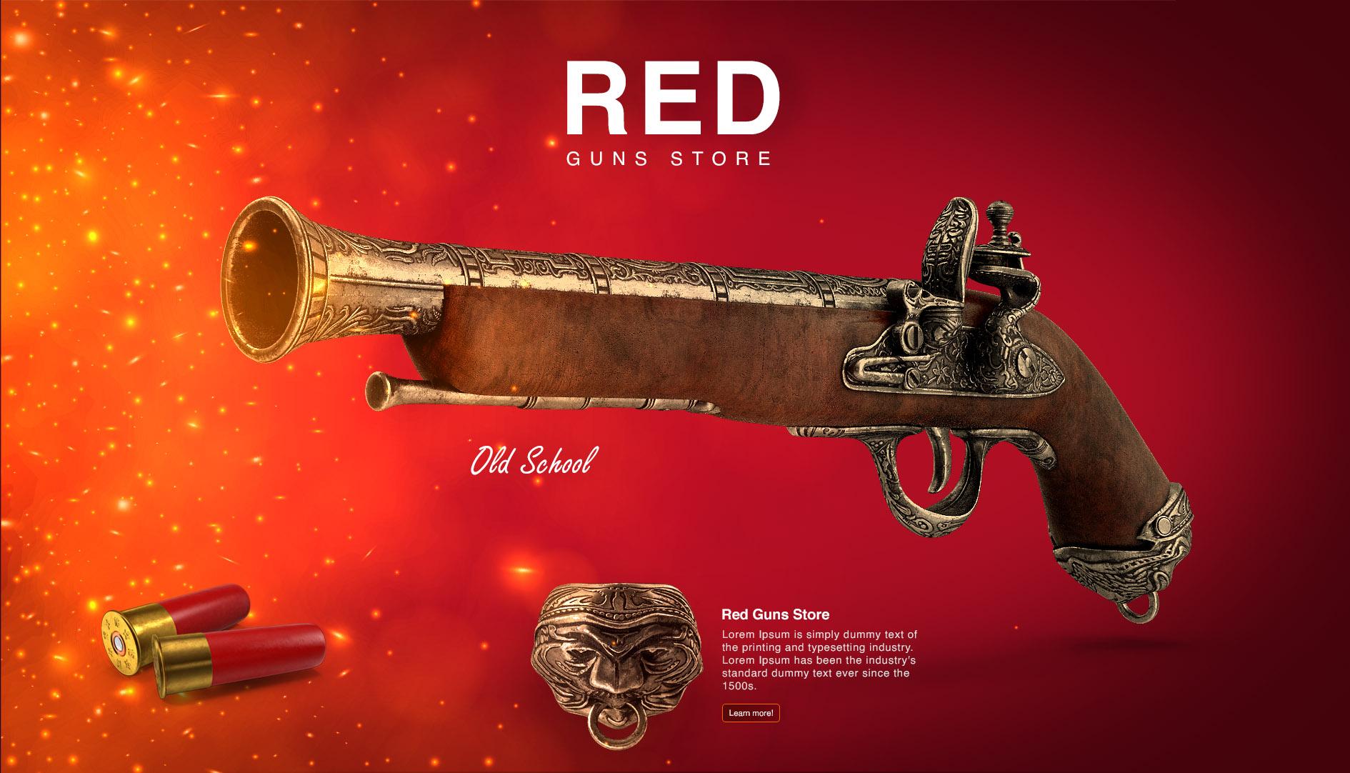 red-guns-store-website-design1-waleedsayed